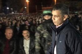 مسئول بالمخابرات المصرية يشارك بتأبين شهداء القسام
