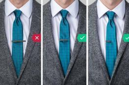 أخطاء شائعة عند ارتداء ربطة العنق