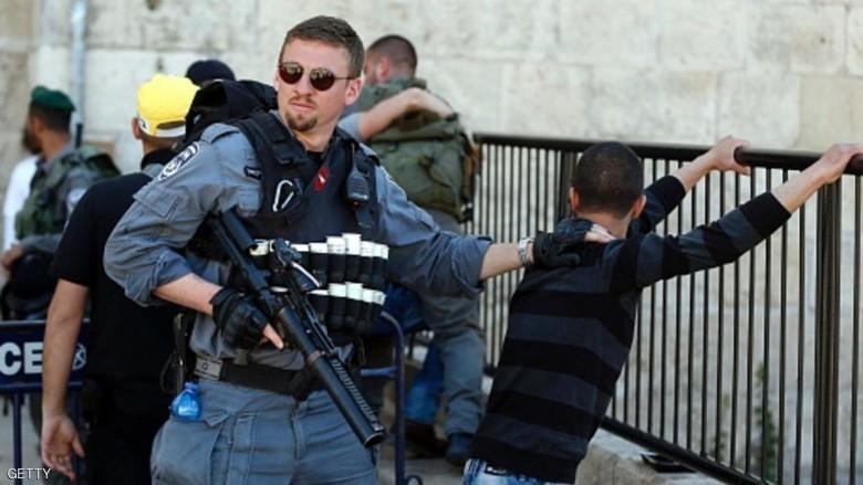 الاحتلال يعتقل الطفل غسان عوايصة من بلدة بيتونيا