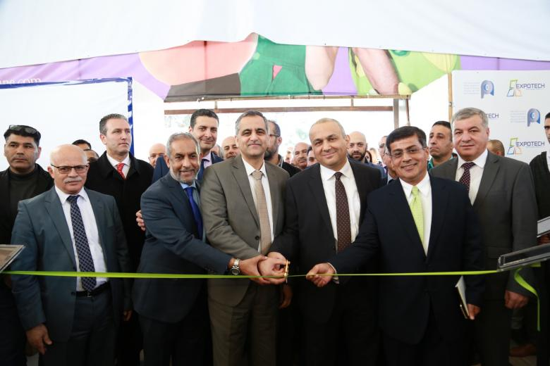"""افتتاح فعاليات معرض فلسطين التكنولوجي """"اكسبوتك 2017"""" برام الله"""