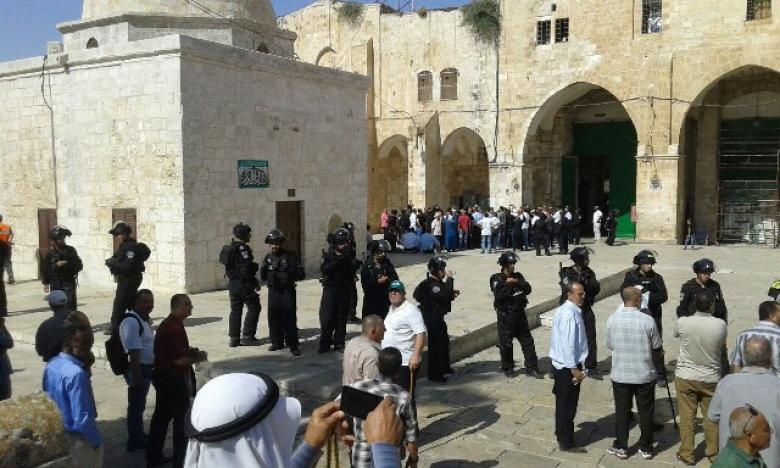 الأردن يدين اقتحام الاحتلال للأقصى