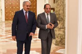 السيسي يلتقي حفتر بالقاهرة مجددًا في أقل من شهر