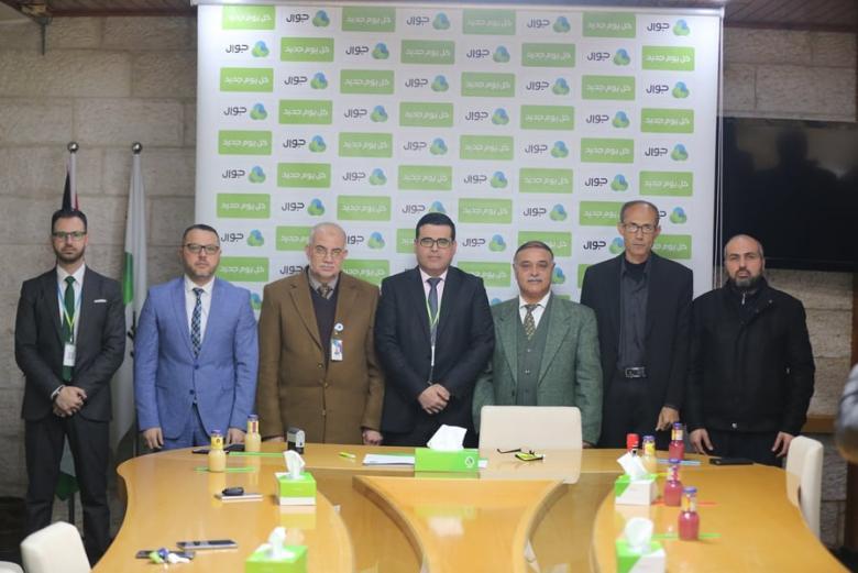 مؤسسة فلسطين المستقبل توقع اتفاقية دعم لتجهيز قسم العلاج الوظيفي