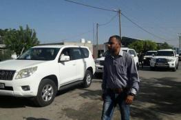 وصول نائب ملادينوف والسفيرة البولندية إلى قطاع غزة