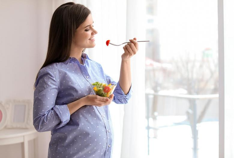 تغذية الحامل في الشهر السابع