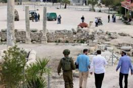 الاحتلال يقتحم بلدة سبسطية ويغلق المنطقة الأثرية في نابلس