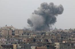 غارات وقصف بسوريا ومقتل مدنيين بريف دمشق