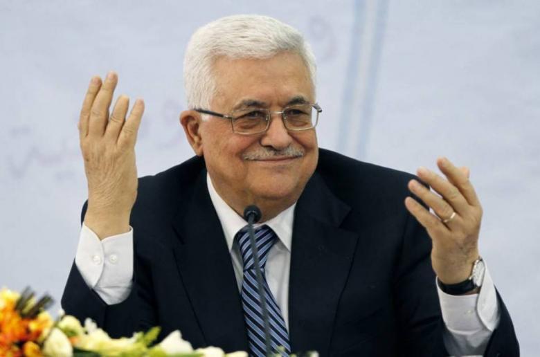 عباس يجتمع مع نظيره الروسي