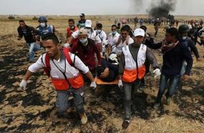 مسيرات العودة شرق قطاع غزة