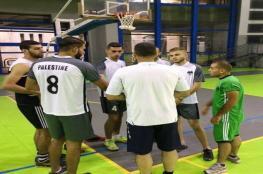 منتخب الطائرة يُواصل تدريباته استعداداً للبطولة العربية