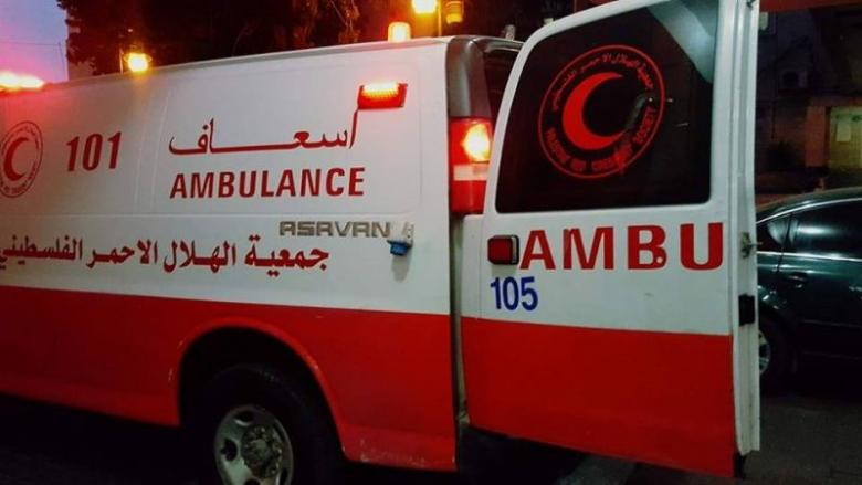 إصابات بينها خطيرة بحادث سير وسط القطاع
