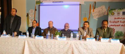 افتتاح برنامج التوعية والإرشاد المجتمعي لمدارس خان يونس