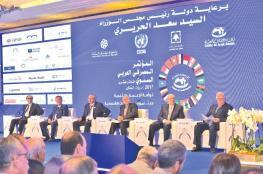 محافظ سلطة النقد يشارك بالمؤتمر المصرفي العربي ببيروت