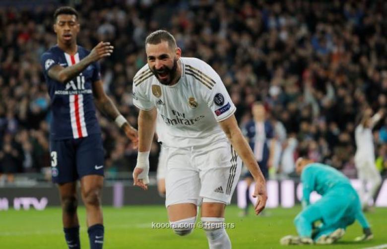 باريس يخمد ثورة ريال مدريد في دقيقتين