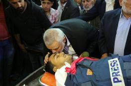 حماس بذكرى استشهاد الصحفي مرتجى: ستبقى رواية شعبنا خالدة