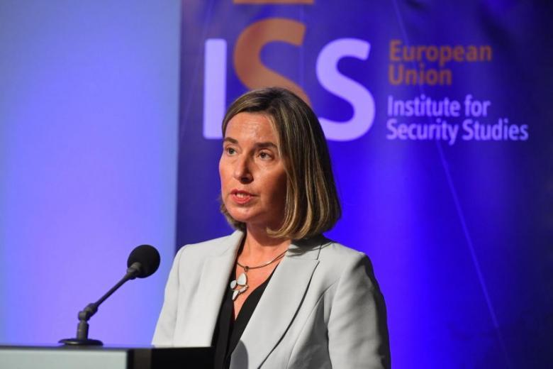 موغريني: حل الدولتين سبيل إنهاء الصراع في الشرق الأوسط