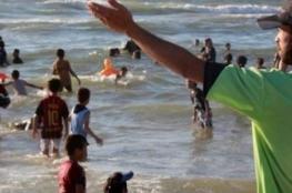 إنقاذ أربعة أطفال من الغرق في بحر خانيونس