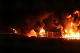 الاحتلال يقتحم سبسطية ويحرق مزرعة ويصيب العشرات