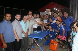 مسجد الصفاء بطلاً لبطولة الأضحى الكروية