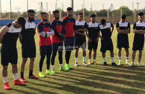 تدريبات المنتخب الوطني في المعسكر التدريبي بالسعودية