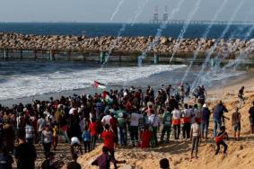 إصابات برصاص بحرية الاحتلال شمال القطاع