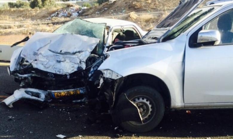 وفاة شابين بحادث سير مروع في النقب