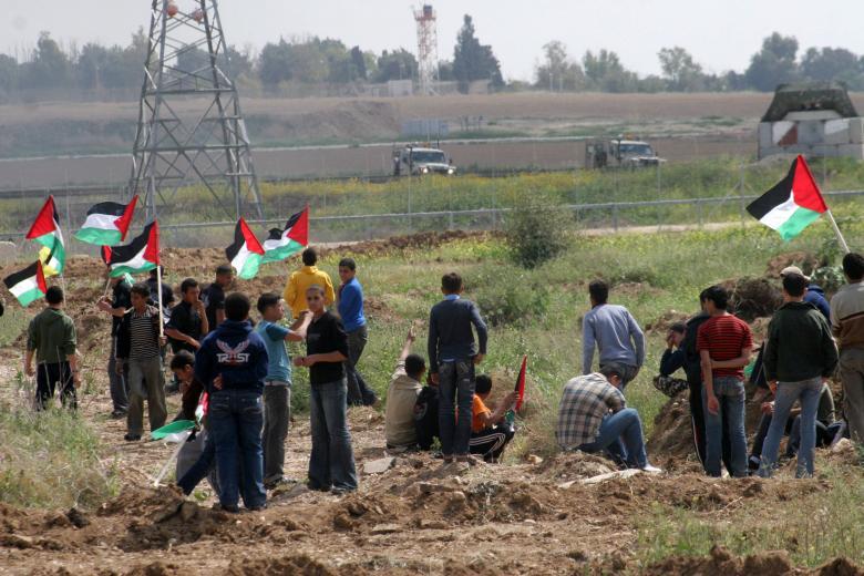إصابة مواطن برصاص الاحتلال شرق مدينة غزة