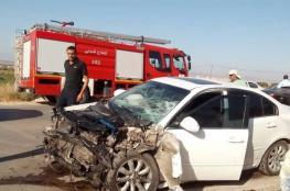 وفاة 4 أشخاص في 200 حادث سير بالضفة الأسبوع الماضي