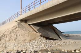 جسر وادي غزة.. بين مخاوف انهياره وجهود إصلاحه