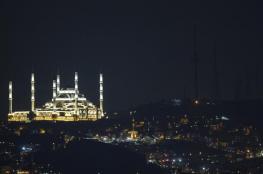 يطل على إسطنبول ويسع 60 ألف مصل.. تركيا تفتتح أكبر مساجدها