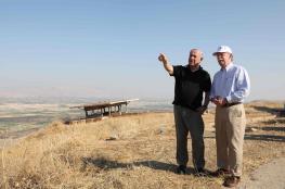 نتنياهو يطلب ضوءًا أخضر من واشنطن لضم غور الأردن