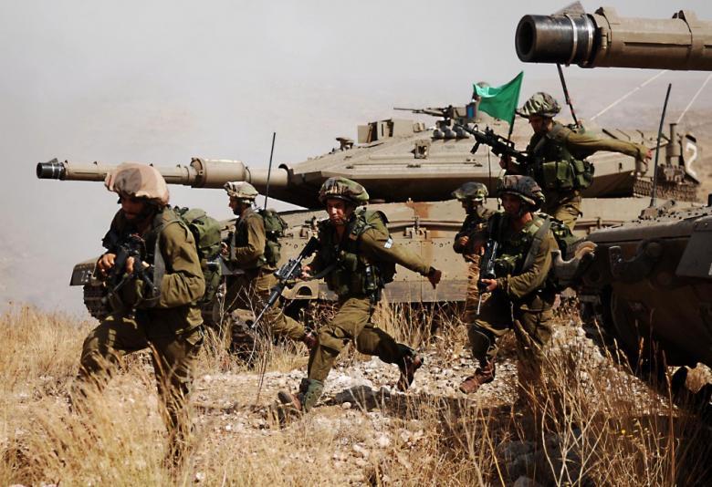 جيش الاحتلال يطلق مناورات عسكرية واسعة اليوم