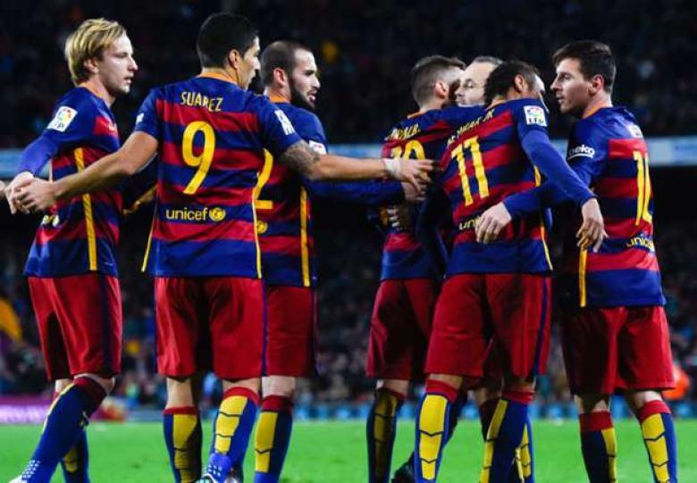 برشلونة يستعيد نجميه قبل موقعة باريس سان جيرمان