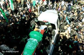 """غزة: تشييع القائد """"فقها"""" وسط دعوات بالانتقام"""