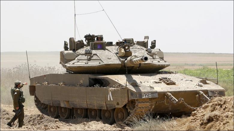 """دبابة إسرائيلية لـ """"حرب العصابات"""""""