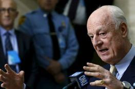 دي ميستورا: لا انتخابات بسوريا مع بقاء النظام الحالي