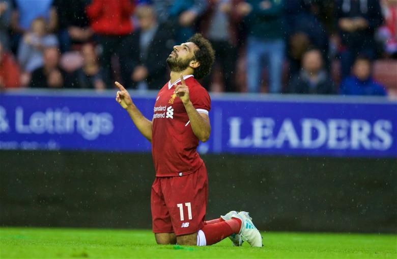 محمد صلاح أفضل لاعب بليفربول للمرة الرابعة
