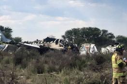 85 جريحا جراء تحطم طائرة ركاب لدى إقلاعها شمال المكسيك
