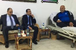 وفد من المخابرات المصرية يزور اللواء أبو نعيم