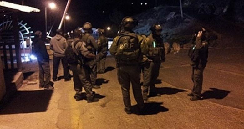 استنفار إسرائيلي قرب نابلس شمال الضفة الغربية