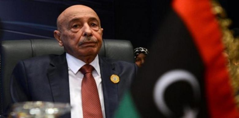 عقيلة صالح يعترف بتفصيل قوانين على مقاس حفتر