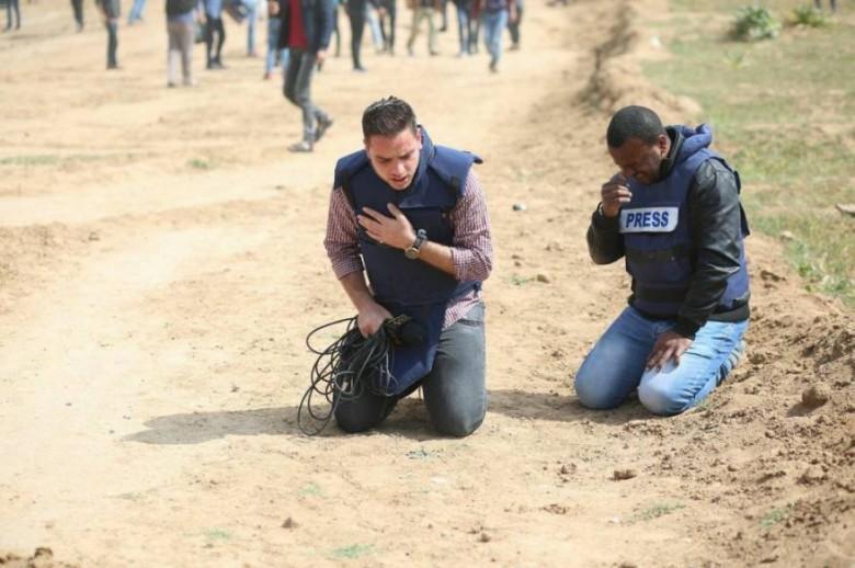 الملتقى الصحفي لحقوق الانسان يدعو لملاحقة جيش الاحتلال