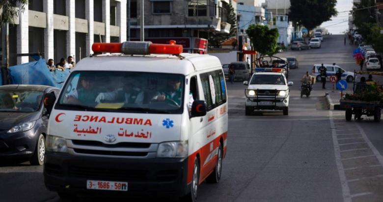 مصرع طفلة في حادث سير بغزة