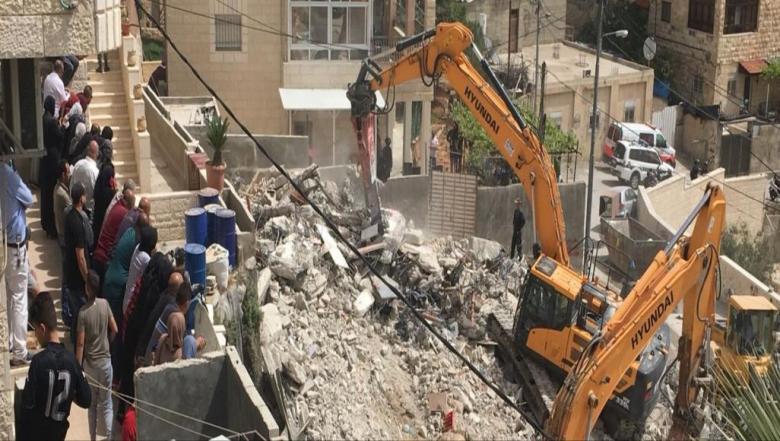 مجزرة الهدم في القدس تتواصل