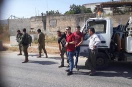 الاحتلال يستولي على سيارة جمع النفايات من نابلس