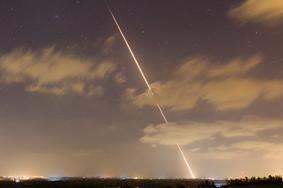 """سقوط صاروخ أطلق من قطاع غزة في """"شاعر هانيغف"""""""