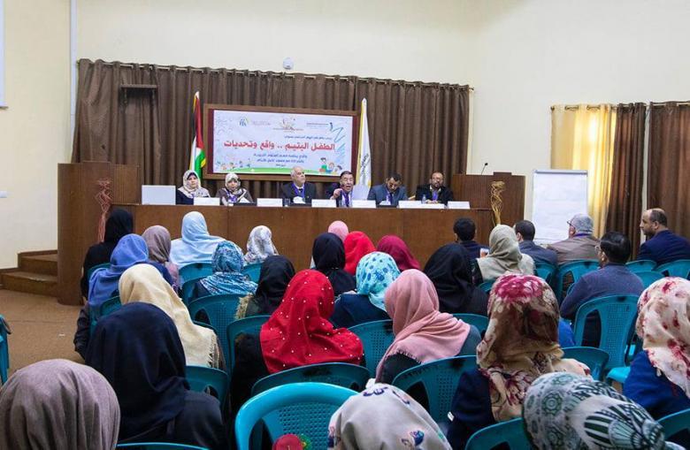 الكلية الجامعية تبدأ فعاليات احتفالية يوم الطفل الفلسطيني