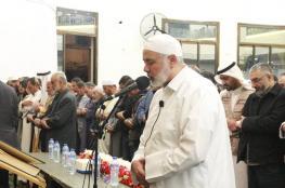 هنية يفتتح المسجد العمري شمال قطاع غزة