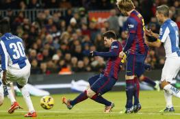ميسي يواصل أرقامه المميزة مع برشلونة