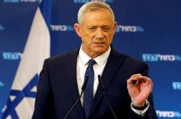 تعقيب جديد  من غانتس حول العدوان الإسرائيلي على غزة